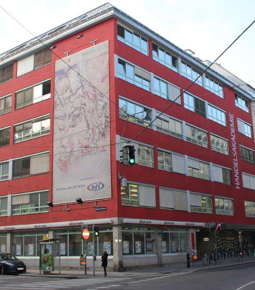 Eine mögliche Prüfungsschule: HAK des BFI Wien